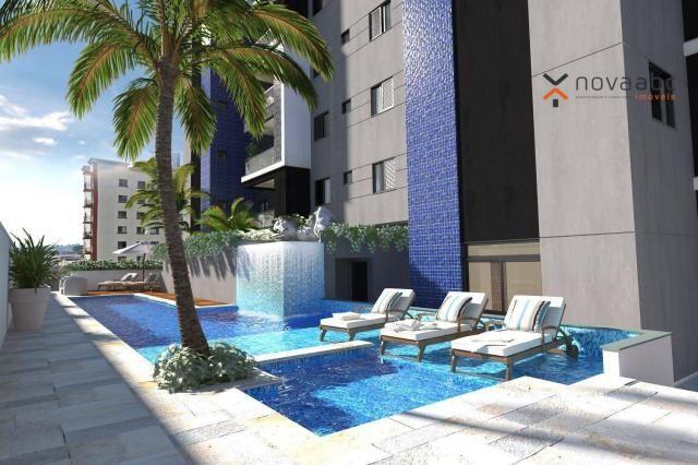 Apartamento com 2 dormitórios e varanda gourmet para alugar, 70 m² em condomínio completo  - Foto 13