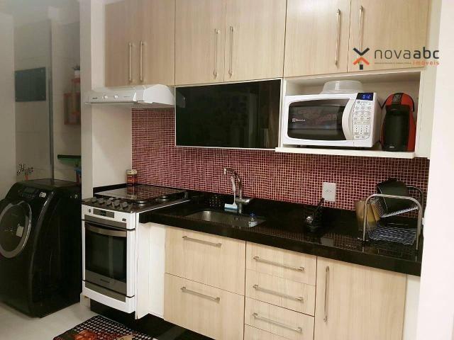 Apartamento com 2 dormitórios para alugar, 50 m² por R$ 1.350/mês - Parque Erasmo Assunção - Foto 7