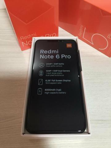 PRONTA ENTREGA - Xiaomi Note 6 PRO 64GB 4G RAM