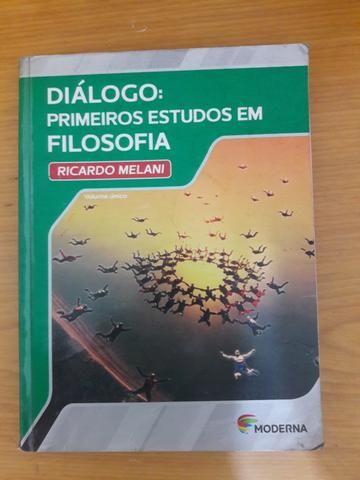 FILOSOFIA - Dialogo: Primeiros estudos em filosofia