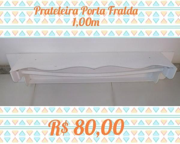 Prateleira Porta Fraldas