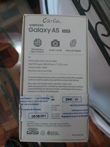 Galaxy A5 2017 gold