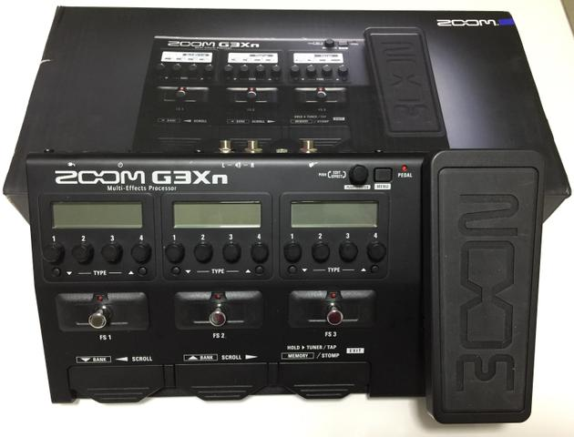 Pedaleira Zoom G3xn Nova