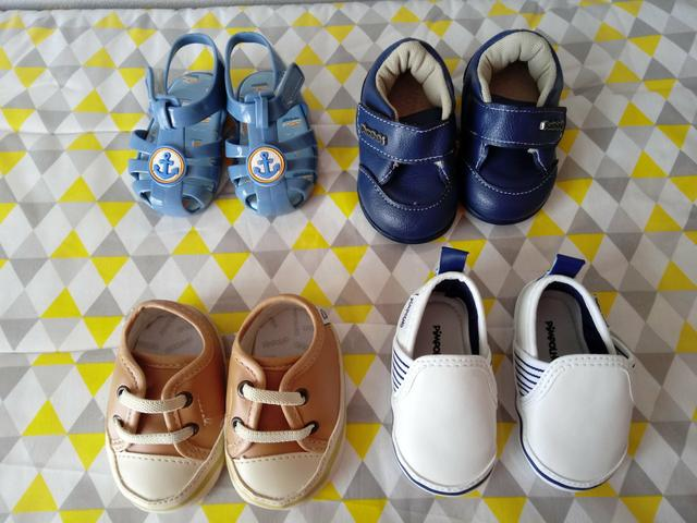 Lote de sapatos de Meninos