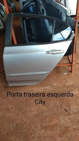 Porta traseira esquerda Honda city