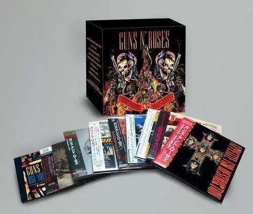 Coleção Guns'n'roses 1987-2011 9 Cds 2 Dvd Box Japan Lacrado