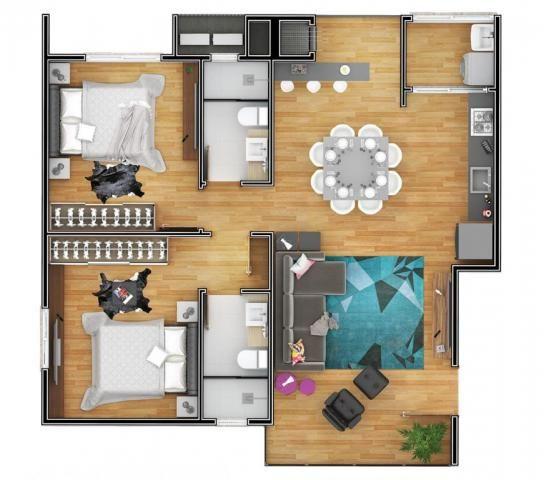 Apartamento à venda com 2 dormitórios em Costa e silva, Joinville cod:V52002 - Foto 7