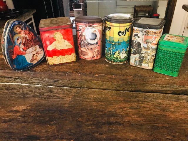 Lote de latas antigas!