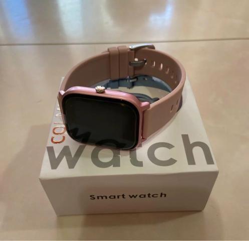 Relógio Celular Inteligente Digital Smartwatch GTS Android Apple Monitor Cardíaco