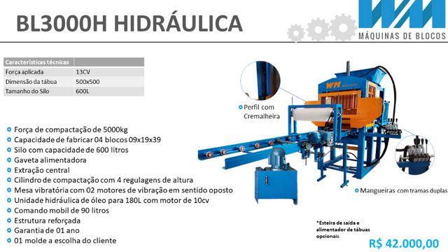 Maquina para fabricar blocos e artefatos de concreto - Foto 2