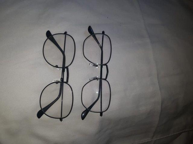 Armação de óculos preta
