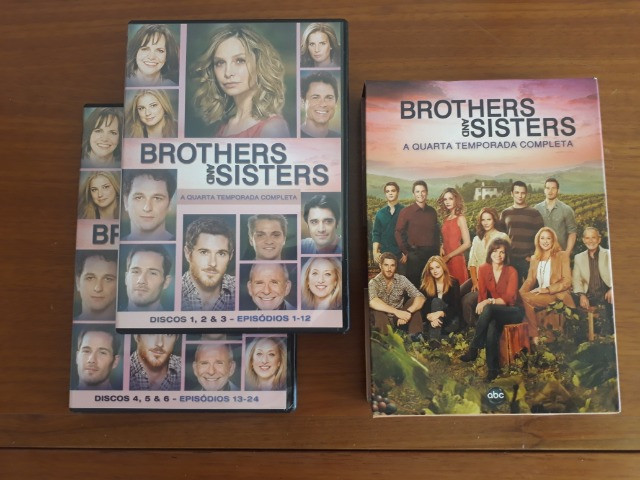 Dvd - Brothers & Sisters 4° Temporada - Foto 3