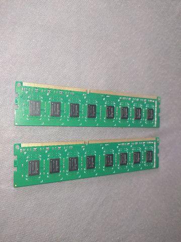 2 Memória Ram 2gb ddr3 1333mhz - Foto 2