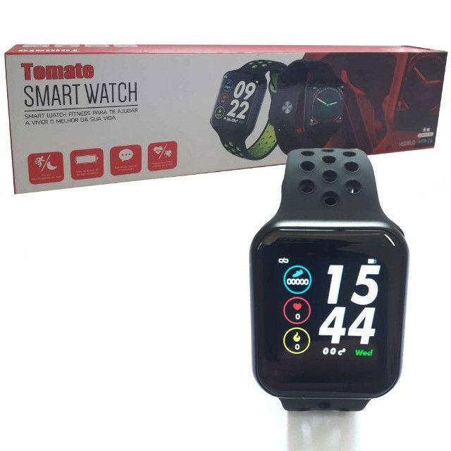 Smartwatch Relógio Inteligente Mtr-26 Tomate - Foto 2