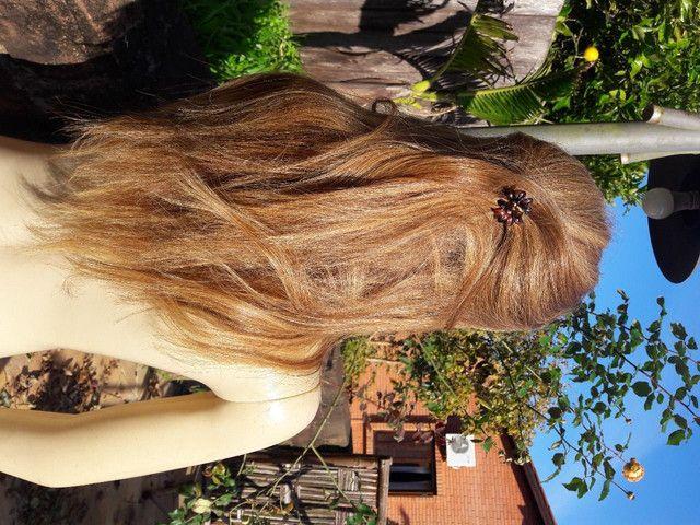Peruca cabelo Natural - Foto 2