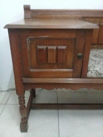 Mesinha antiga de telefone ou namoradeira - Foto 3