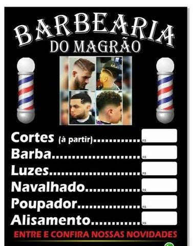 Barbearia(Povoado Sítio do Tomás)