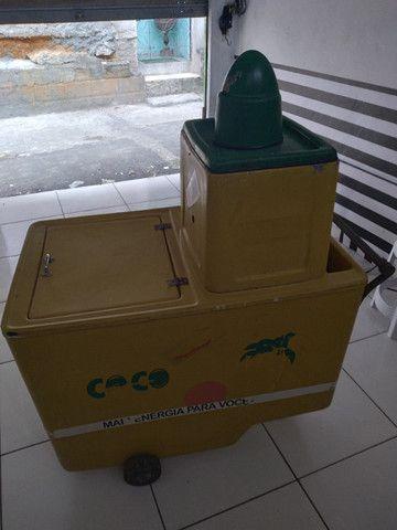 Carro de água de coco - Foto 2