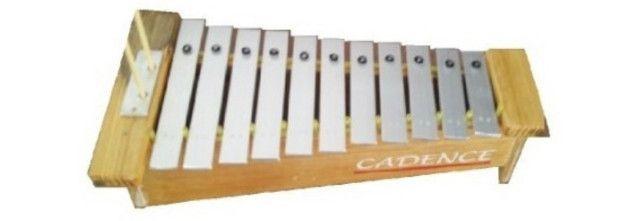 Metalofone contralto cadence xilofone vibrafone marimba