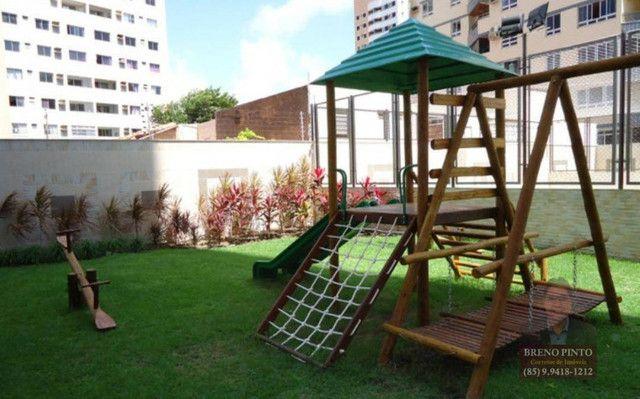 Apartamento no Villa Sonata com 3 dormitórios à venda, 124 m² por R$ 850.000 - Aldeota - F - Foto 7