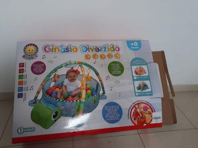 Ginásio 3 em 1 para bebe - Foto 2