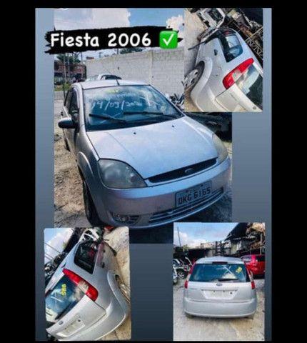 fiesta 1.0 2006 supercharger flex sucata para retirada de pecas