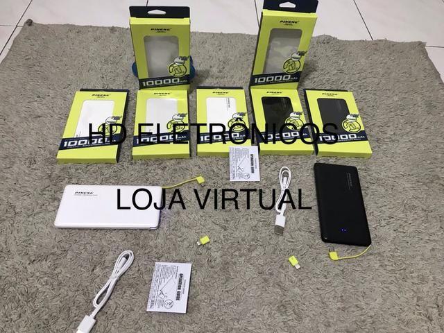 Vai viajar não fique sem carga no seu celular bateria Portatil lacrada original - Foto 2