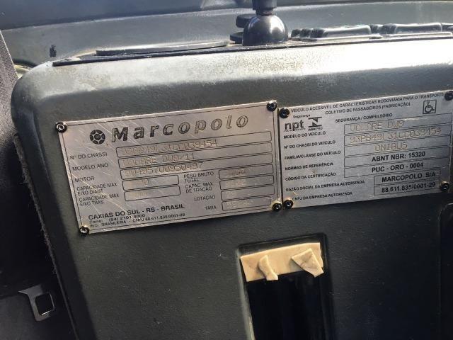 Microônibus Volare Dw9 2012 completo - Foto 10