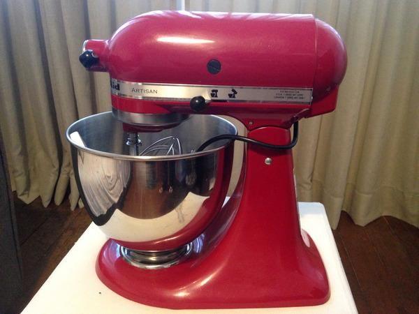 Batedeira KitchenAid Stand Mixer Artisan Vermelha 110v