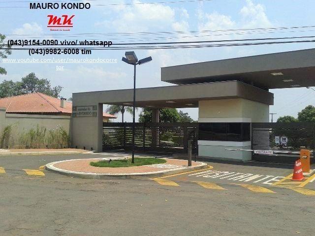 Excelente casa de alto padrão no Condomínio Moradas do Arvoredo em Ibiporã