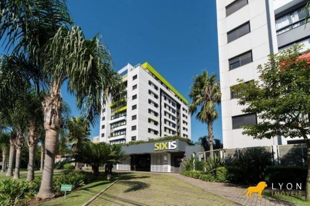 Apartamento com 2 dormitórios para alugar, 65 m² por R$ 1.500/mês - Camaquã - Porto Alegre