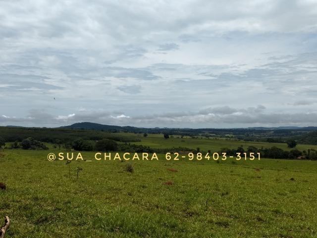 25 alqueires Porteira Fechada Goianira- GO - Foto 15