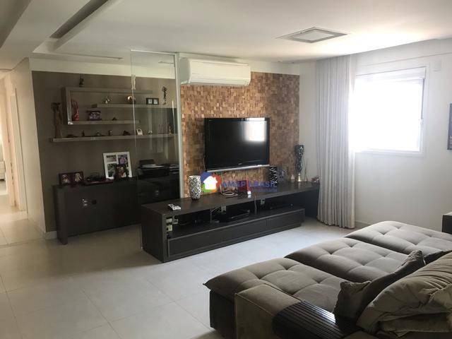 Apartamento com 3 dormitórios à venda, 177 m² por r$ 1.300.000 - setor bueno - goiânia/go - Foto 4