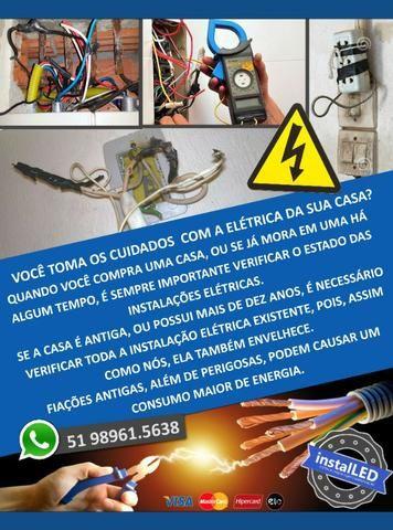 Eletricista Predial, Comercial, melhor atendimento - Foto 4