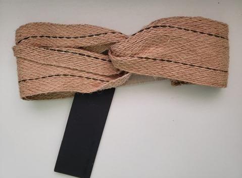 Turbante Rústico Osklen - Faixa de cabelo / Tiara