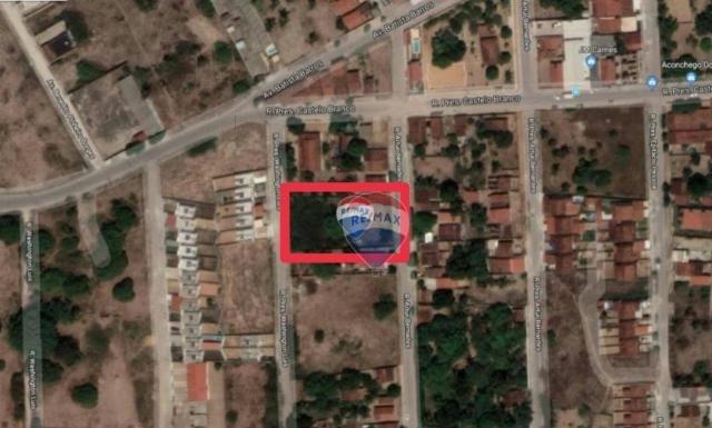Terreno à venda, 1800 m² por r$ 250.000,00 - santa tereza - parnamirim/rn