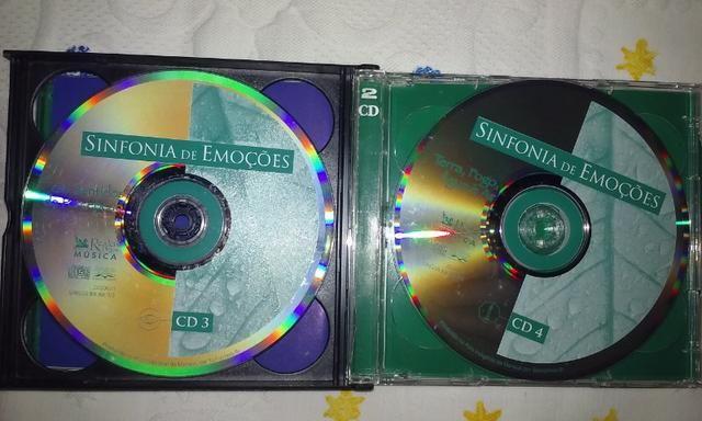 Cd Sinfonia de Emoções Box 5cds - Foto 3