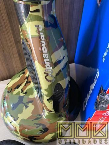 Hoverboard skate elétrico ou scooter 10 Polegadas Novo completo com Bluetooth e garantia - Foto 3