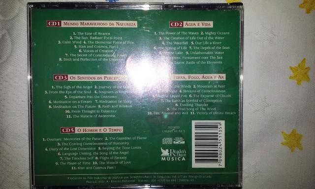 Cd Sinfonia de Emoções Box 5cds - Foto 5