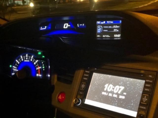 Honda CIvic 2012- Modelo EXS mais Completo com Teto Solar e Banco de Couro - Foto 17