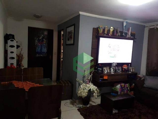 Apartamento com 2 dormitórios à venda, 53 m² por R$ 112.000 - Santa Terezinha - São Bernar - Foto 3