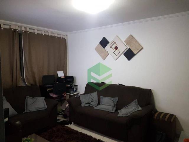 Apartamento com 2 dormitórios à venda, 53 m² por R$ 112.000 - Santa Terezinha - São Bernar