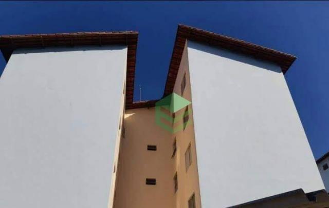 Apartamento com 2 dormitórios à venda, 57 m² por R$ 199.000 - Vila Marchi - São Bernardo d - Foto 2