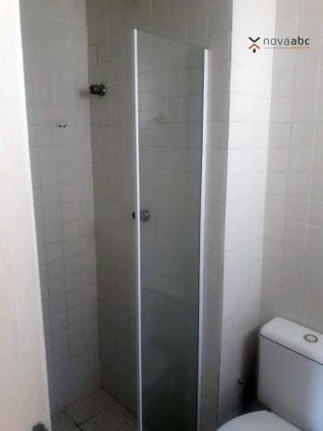 Apartamento com 2 dormitórios para alugar, 56 m² por R$ 1.200/mês - Utinga - Santo André/S - Foto 14