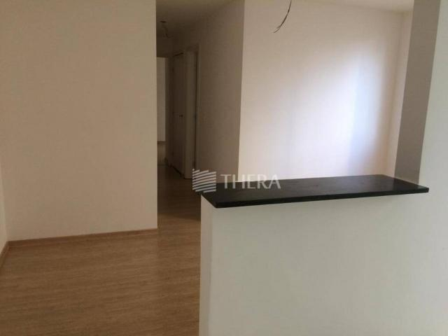 Apartamento com 2 dormitórios para alugar, 47 m² por r$ 1.300/mês - vila homero thon - san - Foto 4