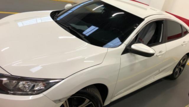 Honda civic EXL mpecável branco estelar - Foto 8