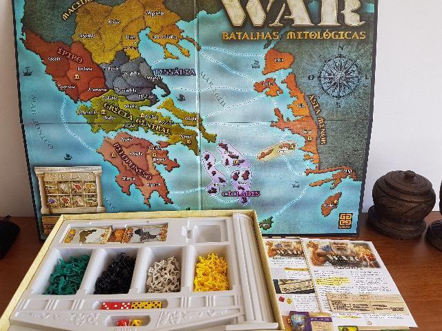 War Batalhas Mitológicas jogo de tabuleiro - Foto 4