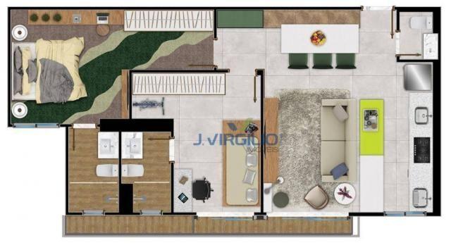 Apartamento com 2 quartos à venda, 75 m² por r$ - setor bueno - goiânia/go - Foto 12