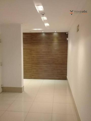 Apartamento com 3 dormitórios para alugar, 85 m² por R$ 2.500/mês - Jardim - Santo André/S - Foto 20