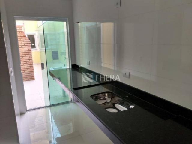 Apartamento com 3 dormitórios à venda, 96 m² por r$ 460.000,00 - campestre - santo andré/s - Foto 3